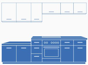 k chenschr nke traum k chen f r alle k uferportal. Black Bedroom Furniture Sets. Home Design Ideas