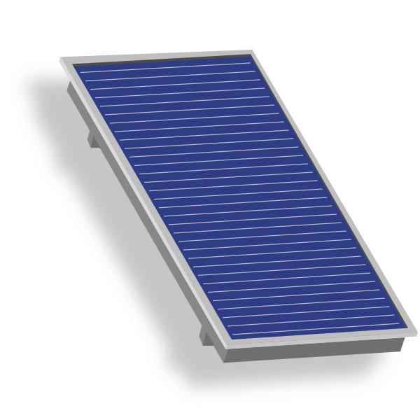 solarthermie f r warmwasser und heizung. Black Bedroom Furniture Sets. Home Design Ideas