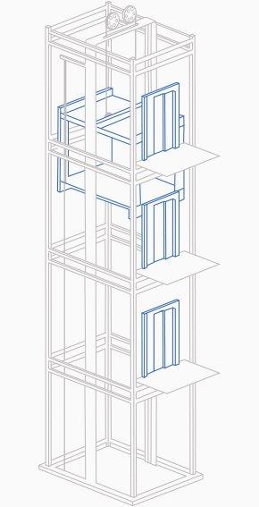 aufzug f r das mehrfamilienhaus preise vergleichen. Black Bedroom Furniture Sets. Home Design Ideas