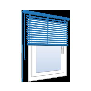 Jalousien Im Fensterrahmen.Fenster Rollos Jalousien Modelle Und Kosten