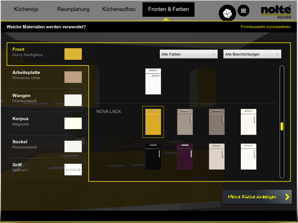 nolte k chenplaner plane deinen traum k uferportal. Black Bedroom Furniture Sets. Home Design Ideas