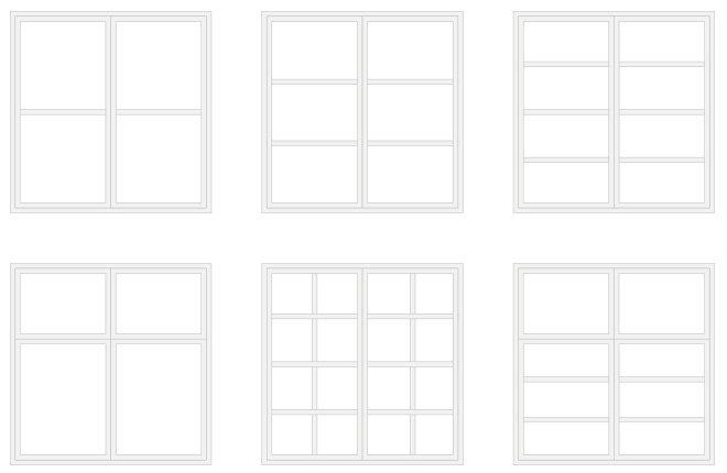 sprossenfenster fenster nach ma k uferportal. Black Bedroom Furniture Sets. Home Design Ideas