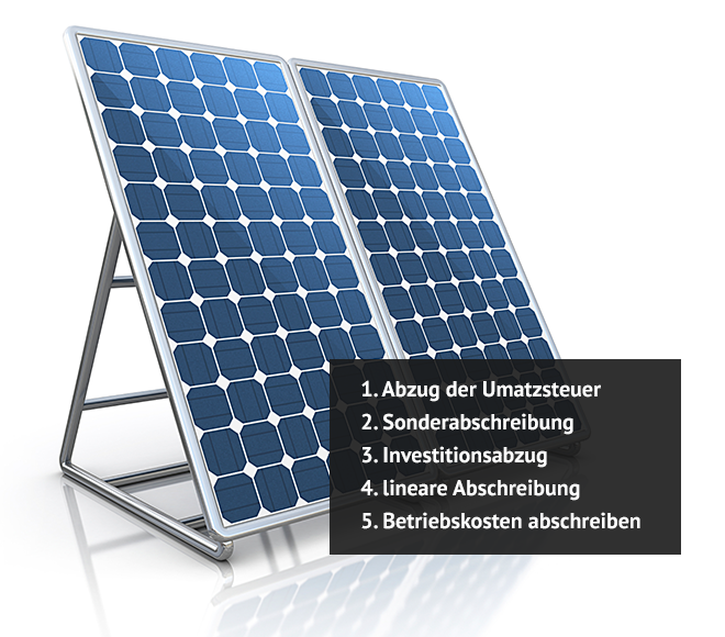 Photovoltaikanlage Steuer » Solarenergie richtig nutzen   Käuferportal