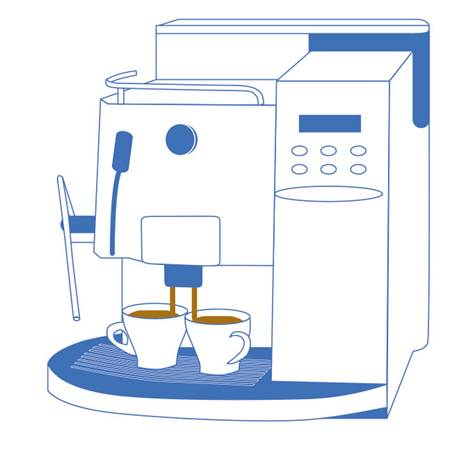 saeco royal kaffeevollautomaten k uferportal. Black Bedroom Furniture Sets. Home Design Ideas