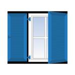 Klapp-Fensterläden