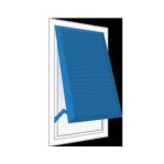 geöffneter Fensterladen mit Stellfunktion