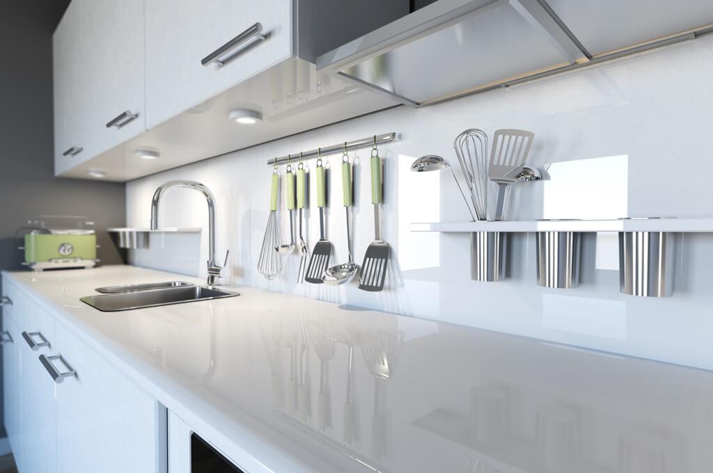 Küchenarbeitsplatte Aus Glas Vor Nachteile Focusde