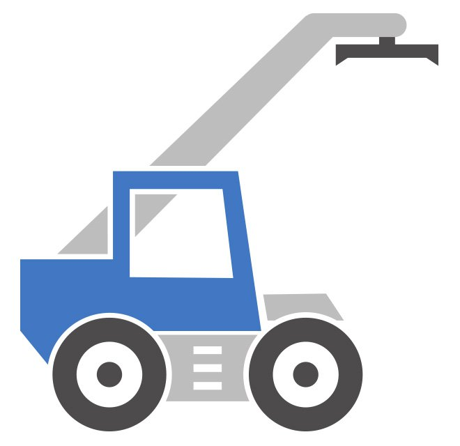 Reach-Stacker Modell Icon