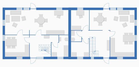 doppelh user mit profis planen sparen k uferportal. Black Bedroom Furniture Sets. Home Design Ideas
