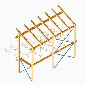 Holzskelettbauweise  Holzhaus » mit Profis planen & sparen | Käuferportal