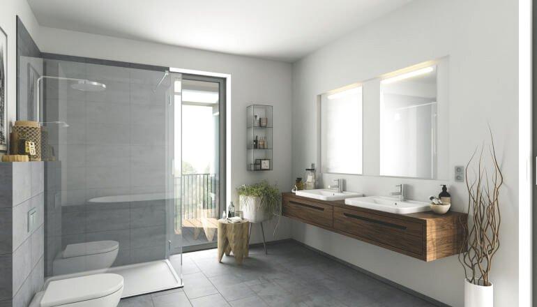 Awesome Modernes Badezimmer Ideen Photos - Erstaunliche ...